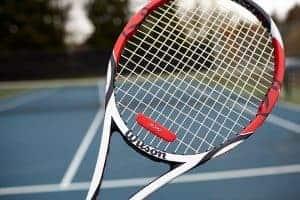 enlarged wilson tennis antivibrator