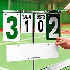 tennis scores recorded