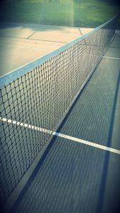 Red de tenis de marca babolat