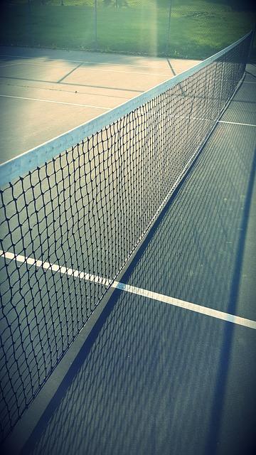 Babolat brand tennis net