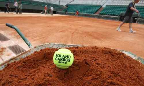 Types of tennis courts surfaces clay