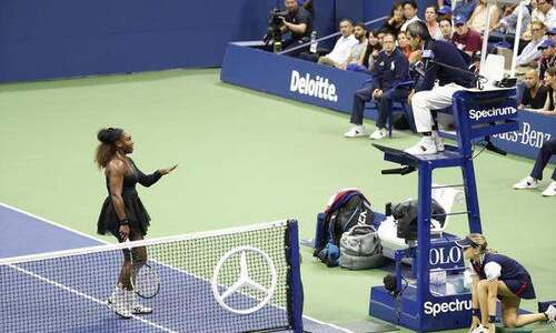 warning serena williams