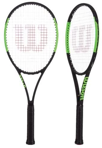 wilson blade 98 tennis racket in tennis shop