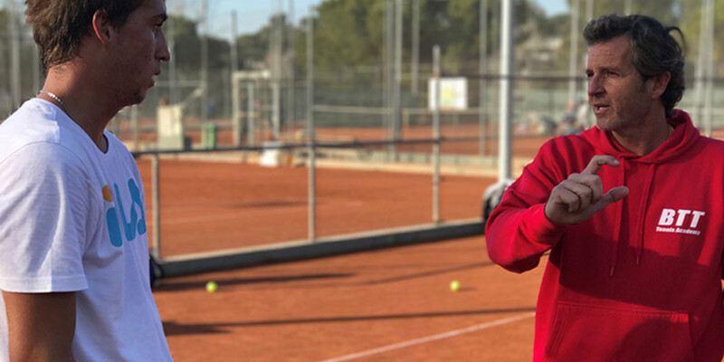 BTT escuela de tenis barcelona