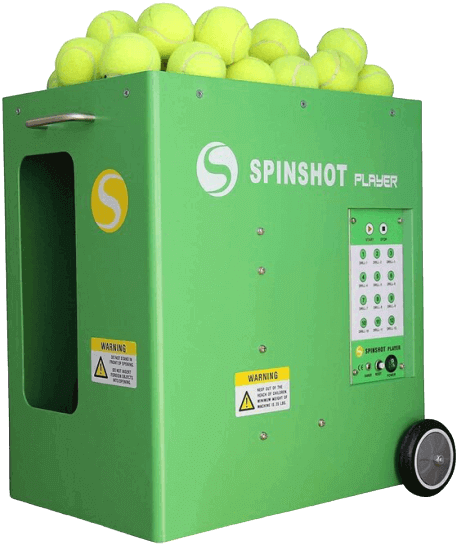 Tennis ball launcher machine