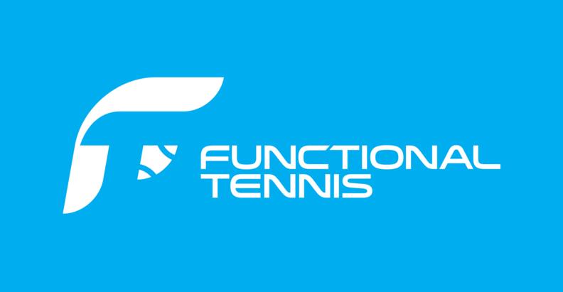 Functional tennis logo agenda de tenis