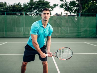 jugadores de tenis intermedio