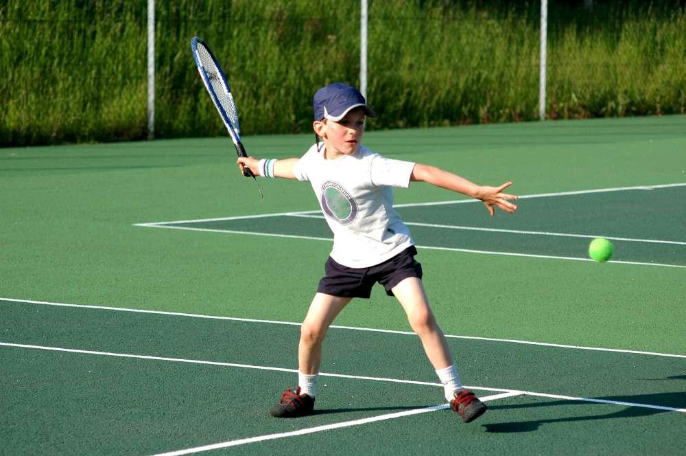 raquetas de tenis de niños