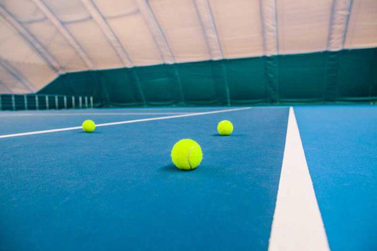 pelota de tenis pista rapida img001
